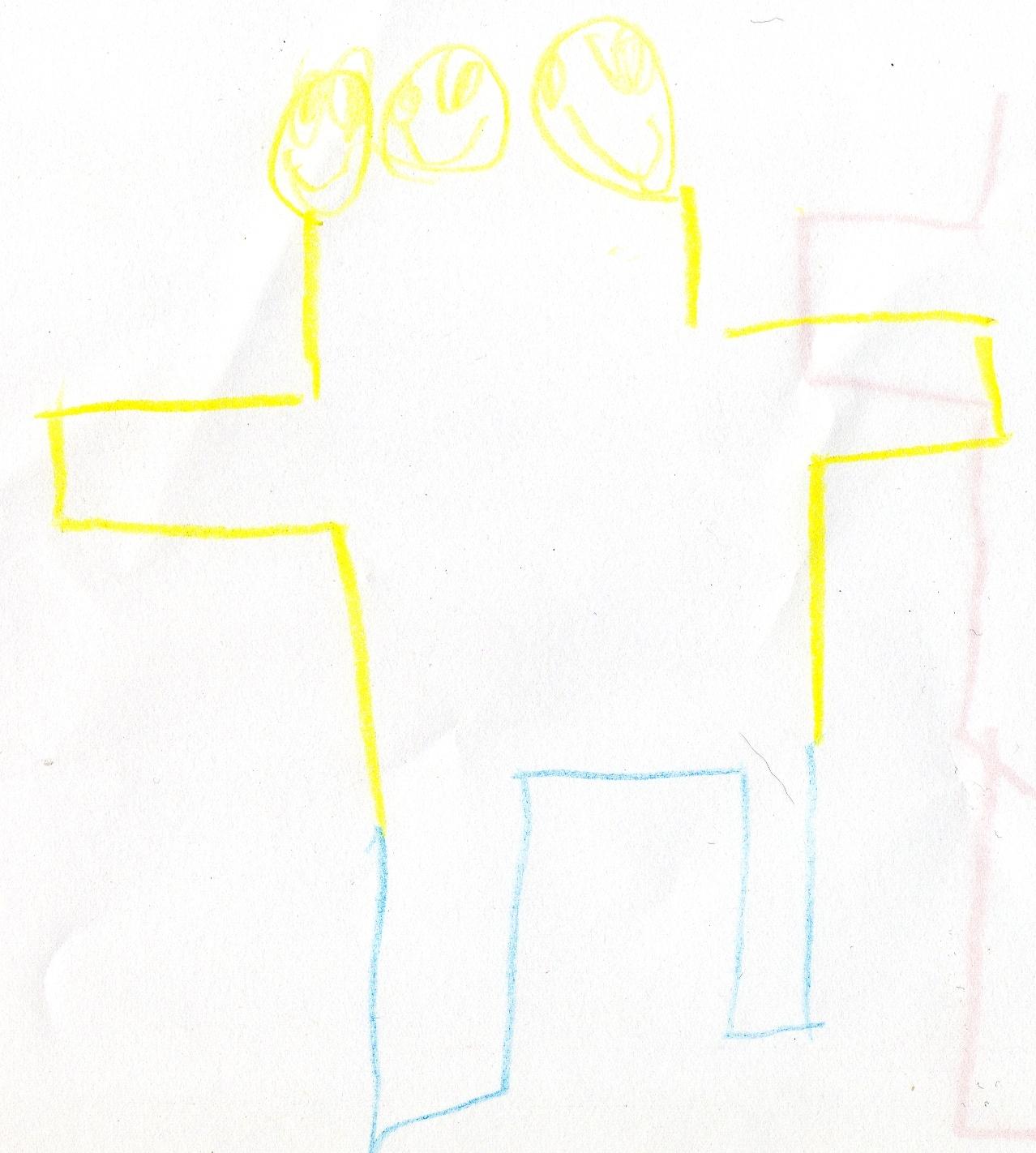 Potwór (autoportret)