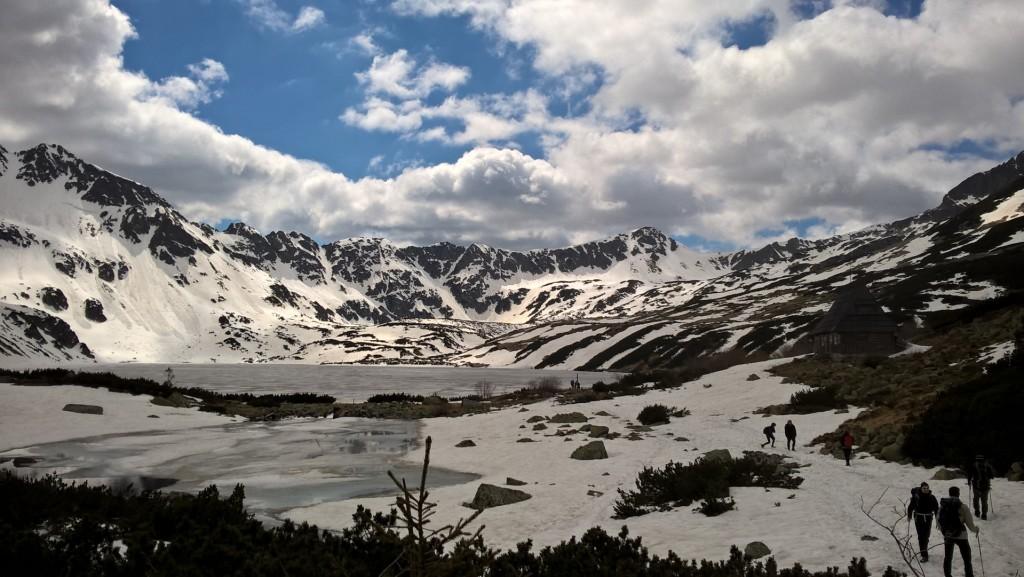 góry dolina pięciu stawów
