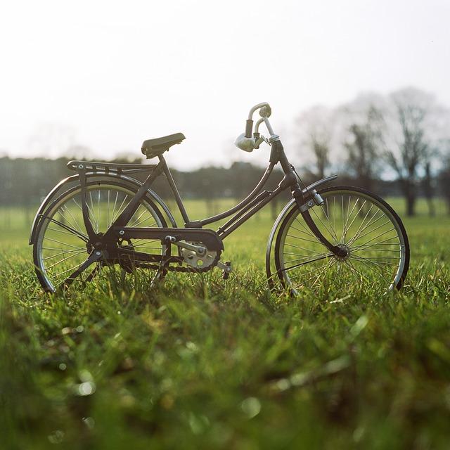 Młody pokochał rower