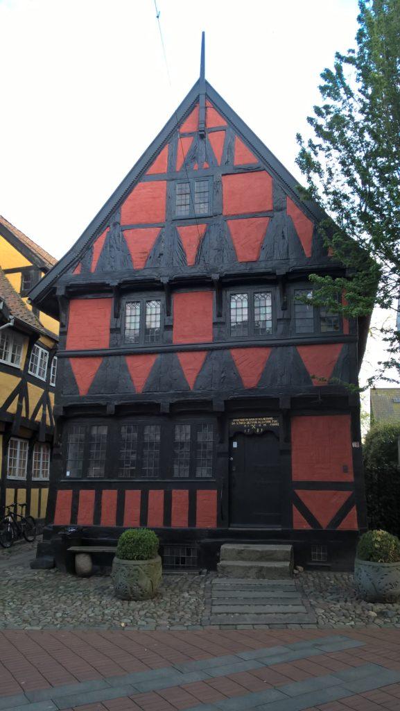 Jeden z najbardziej charakterystycznych domów w Kolding